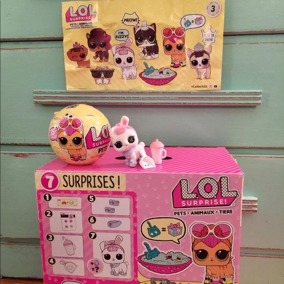 Lol Surprise Pets Lol Surprise Pet Amp Confetti Pop From